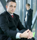 Free Portrait Of A Young Business Man In An Office Stock Photo - 14761540