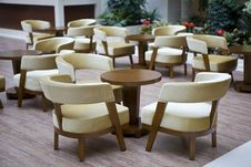 Hotel Lobby And Chairs Royalty Free Stock Photo
