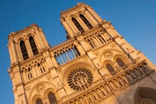 Free Evening Light On Notre Dame Stock Photography - 14761292