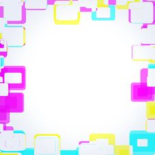 Free Frame Squares Royalty Free Stock Image - 14761426