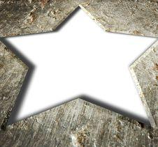 Free Metal Frame Star. Royalty Free Stock Images - 14761539
