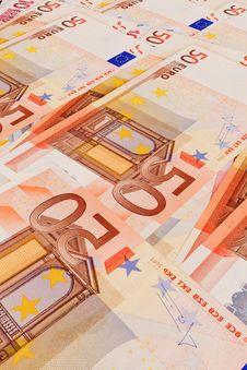 5, 10, 20, 50  Euro Banknotes Royalty Free Stock Photos