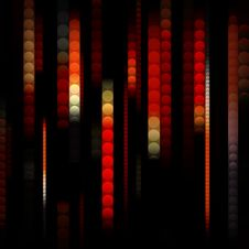 Free Strips Of Shiny Colored Circles Royalty Free Stock Image - 14761766