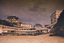 Free Biarritz Beach Royalty Free Stock Image - 14761786