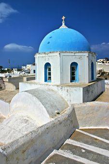 Free Greek Church Royalty Free Stock Photos - 14761838