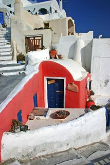 Free House In Oia Stock Photos - 14761853