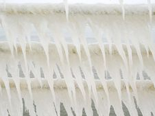 Icicles. Stock Photos