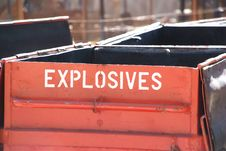 Explosives Royalty Free Stock Photography