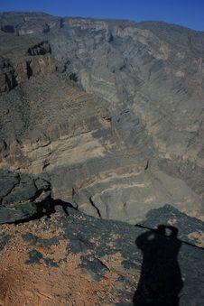 Free Jebel Shams Royalty Free Stock Image - 14763156