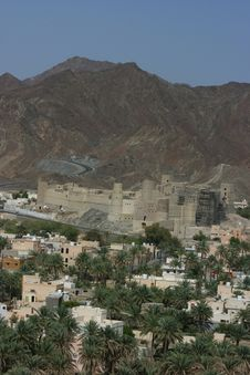 Bahla Fort Royalty Free Stock Image