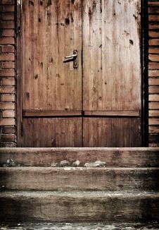 Free Vintage Door Royalty Free Stock Photo - 14763305