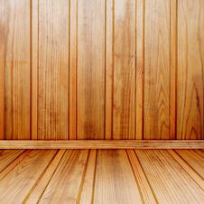 Old Wooden Interior Royalty Free Stock Photo
