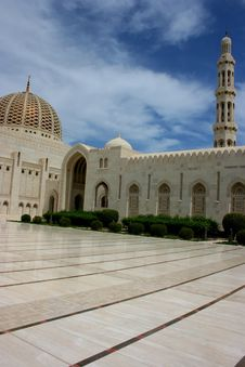 Free Grand Mosque Royalty Free Stock Photography - 14763817