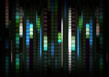 Free Strips Of Shiny Colored Circles Royalty Free Stock Photography - 14763837