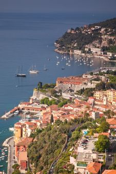 Villefranche On The Cote D Azur Royalty Free Stock Photos