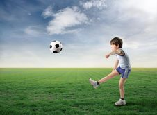 Free Soccer Royalty Free Stock Image - 14764606