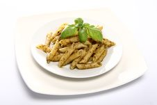 Free Penne With Pesto Stock Image - 14765431