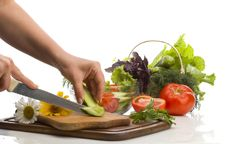 Free Salad Preparing Stock Image - 14765521