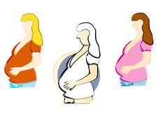 Free Pregnancy Clip Art Stock Image - 14765881
