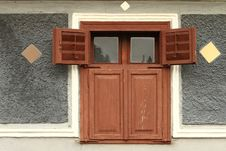 Free Old Rural Wooden House Window Royalty Free Stock Photos - 14765928