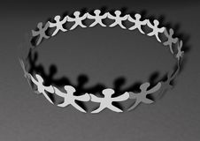 Free United People Chain Royalty Free Stock Photography - 14766787