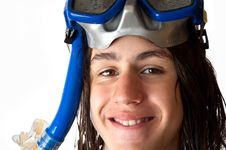 Free Young  Diver Royalty Free Stock Image - 14766856
