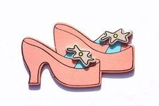 Free Princess Shoes Royalty Free Stock Photography - 14767987
