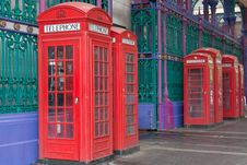 Free Telephone Boxes Royalty Free Stock Images - 14768469