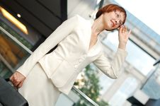 Free Business Woman Royalty Free Stock Image - 14768496
