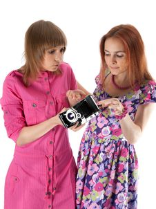 Free Two Girls Stock Image - 14769561