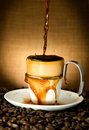 Free Pouring Coffee Royalty Free Stock Photo - 14770495