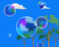 Free Soap Bubbles In The Sky Stock Photos - 14773173