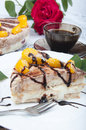 Free Not Baked Cake With Fruits Stock Photos - 14773183