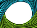 Free Blue And Green Waves Stock Photo - 14775640
