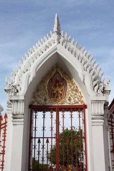 Free Door Of The Temple Royalty Free Stock Images - 14770159