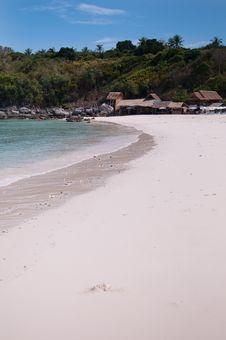 Quite Beach Of Racha Yai Island, Phuket Stock Photo
