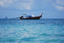 Free Boat Alone On Andaman. Stock Photos - 14770233