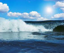 Free Gigantic Wave In Atlantic Ocean Stock Photography - 14770362
