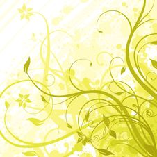 Free Floral Background Royalty Free Stock Images - 14772039