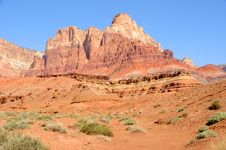 Vermilion Cliffs Monolith Royalty Free Stock Photography