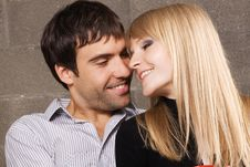 Young Romantic Couple Royalty Free Stock Image