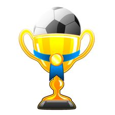 Free Soccer Cup Royalty Free Stock Photo - 14772265