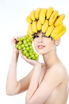 Free Banana Royalty Free Stock Photography - 14772807