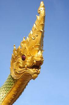 Free Naga Statue Stock Image - 14773081