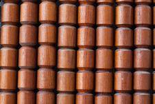 Free Wooden Column Wall Stock Photo - 14773100