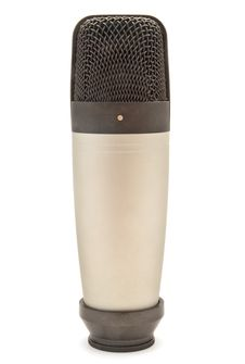 Free Condenser Microphone Royalty Free Stock Photo - 14773215