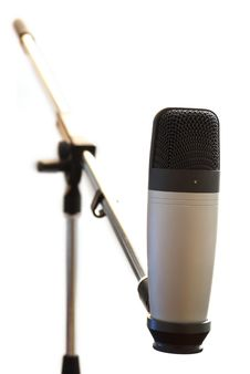 Free Condenser Microphone Stock Image - 14773241