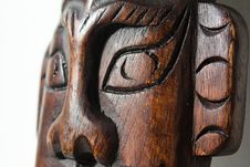 Free Eyes Of Wooden Art Object Stock Images - 14773334