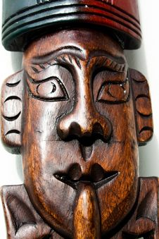 Free Wooden Art Object Stock Image - 14773451