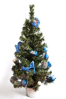 Artificial Christmas Tree Royalty Free Stock Image